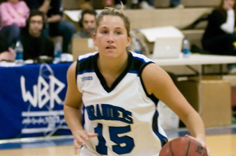 Four reach double figures as women's hoops knocks of No. 16 Tufts, 81-76