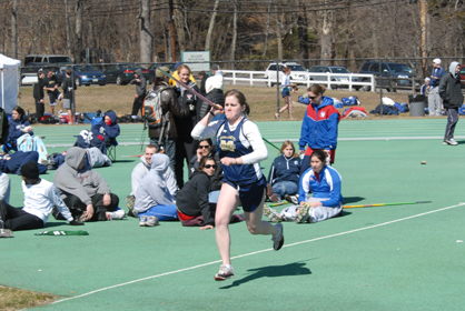 Outdoor Track & Field Records 20 Top Ten Finishes At Bridgewater State Invitational