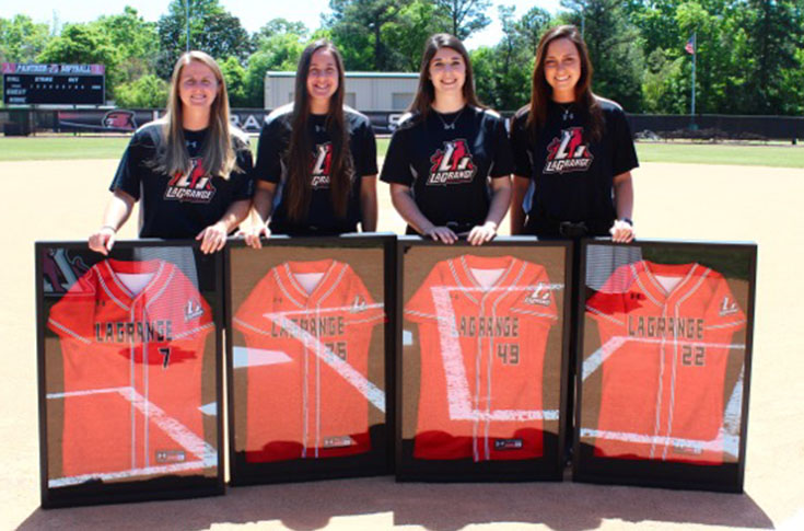 Softball: Panthers recognize 2018 senior class in ceremony