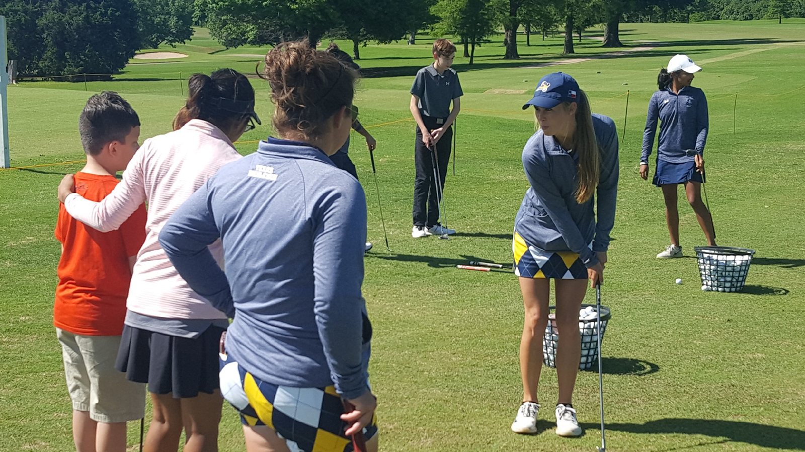 Women's Golf Teaming Up for Character?