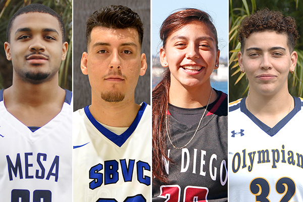 Four PCAC athletes named Athlete-of-the-Month