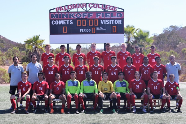 Palomar team that handed IVC a 7-0 loss on Friday