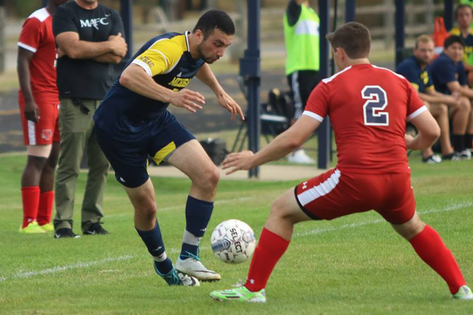 Photo for Saints pull away for win over Men's Soccer