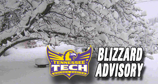"Eblen Center under ""blizzard"" advisory for February 23 game vs. UMKC"