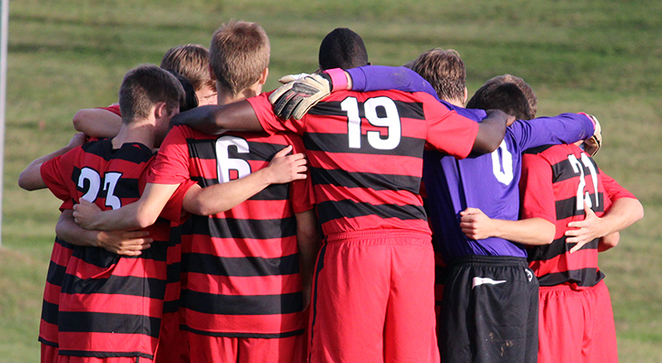Men's Soccer Downed By Alfred St., 2-0