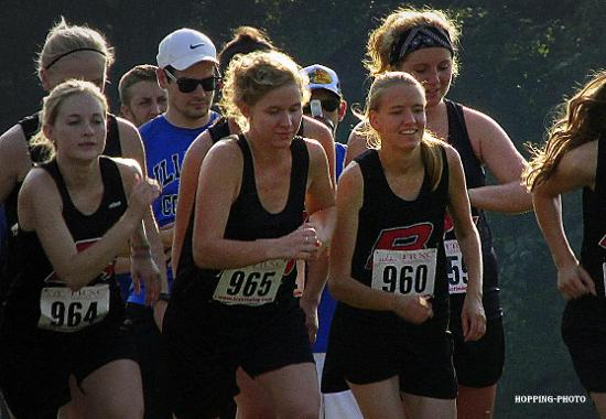 Cross Country Shows Hope In First Race