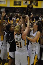 UMBC finished the season on a six-game winning streak to earn its first-ever America East regular-season title.