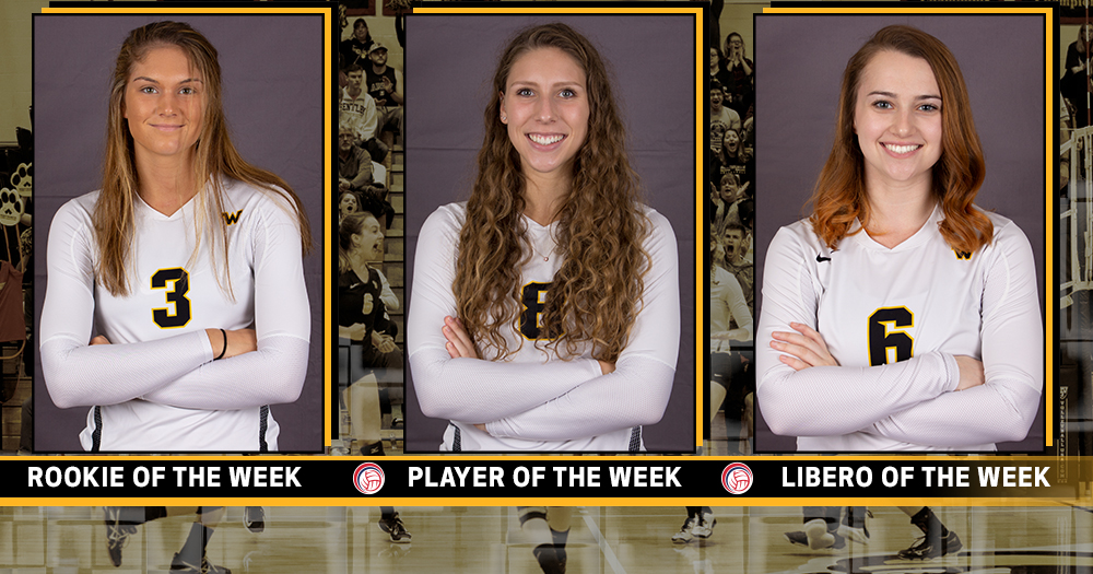 CCC Women's Volleyball Champions Sweep Final Weekly Awards