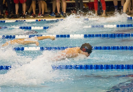 Brandon Lum of Washington University Sets NCAA DIII 200 Fly Record to Win National Title
