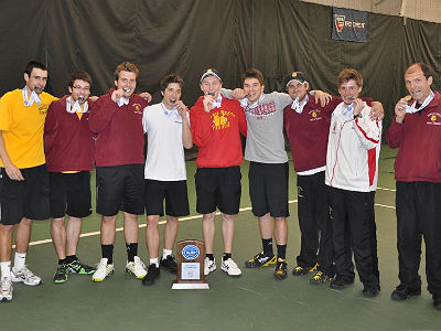 Men's Tennis To Face Lewis In NCAA Tourney