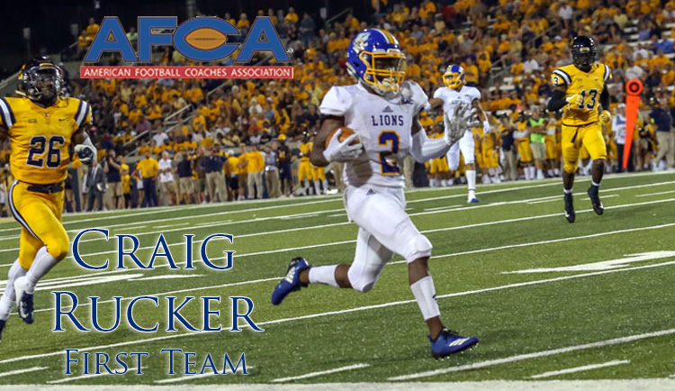 Rucker named to AFCA All-America First Team