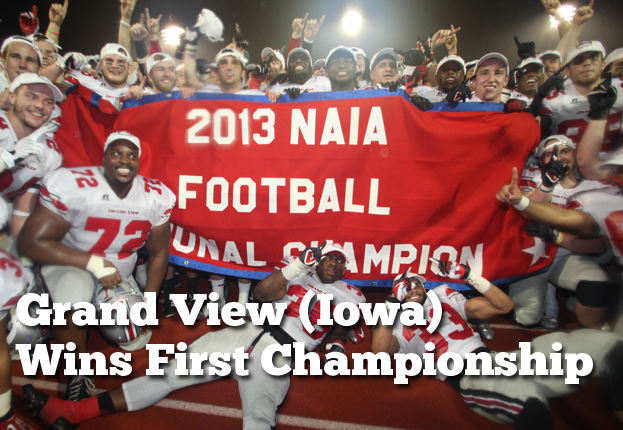 Grand View (Iowa) Wins First Football National Championship