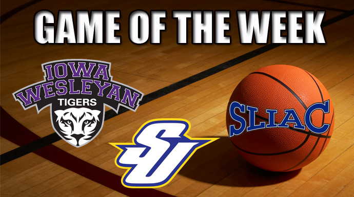 SLIAC Game of the Week - Iowa Wesleyan vs. Spalding
