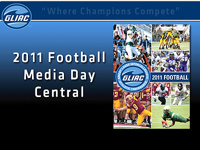 2011 GLIAC Football Media Day Central Website
