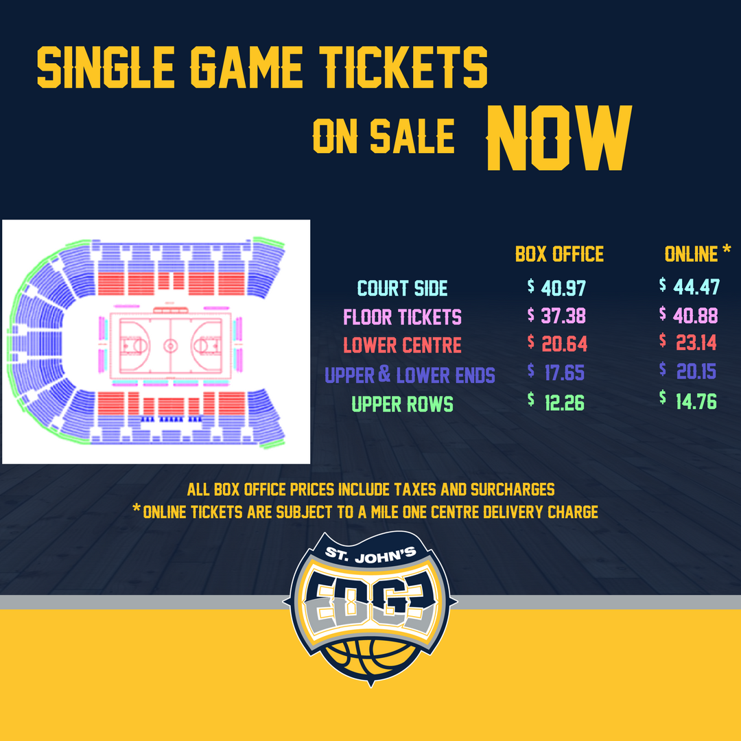 Edge Single Game Tickets