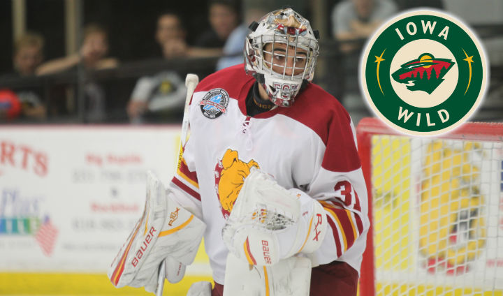 Former Bulldog Goaltender Rob Granett Signed To ATO Contract By AHL's Iowa Wild