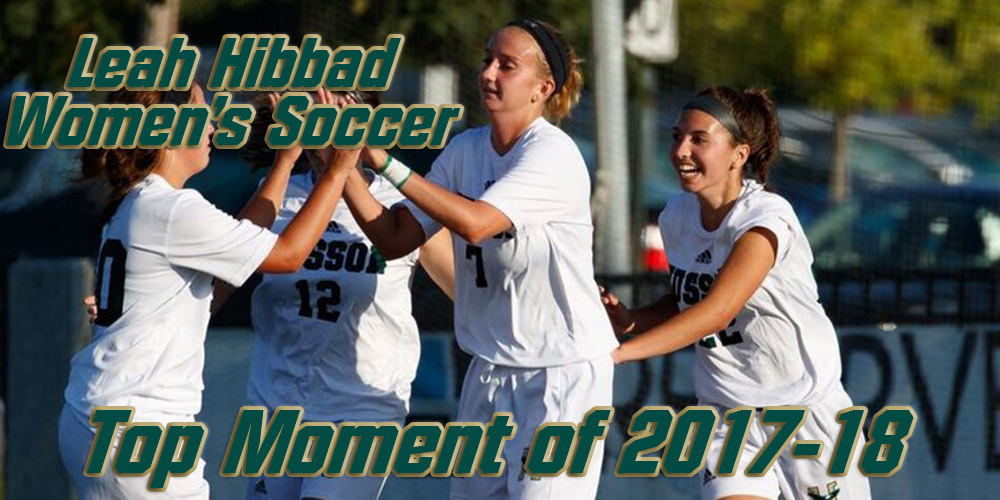 Top Moments of 2017-18: Leah Hibbad Scores 100th Career Point