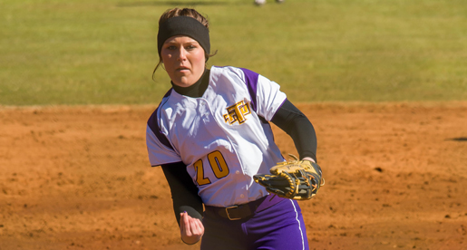 Weaver notches first win of Tech career as softball splits twinbill