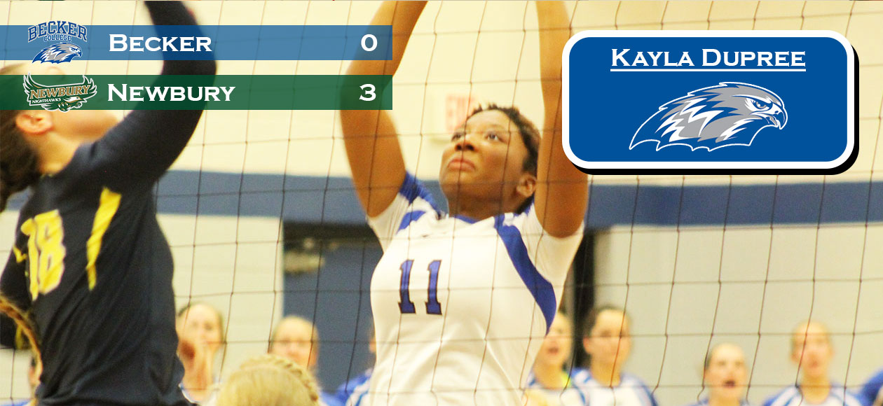 Women's Volleyball ends season with NECC Playoff loss at Newbury