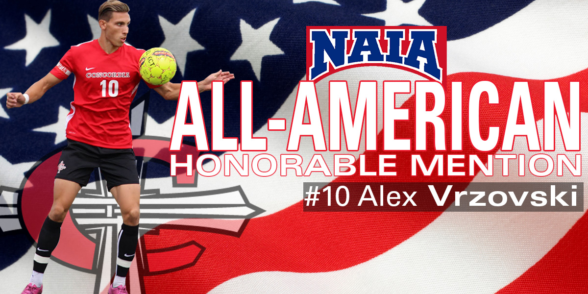 Photo for NAIA names Alex Vrzovski All-American Honorable Mention