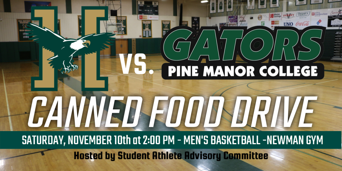 SAAC Holding Canned Food Drive at Men's Basketball Home Opener