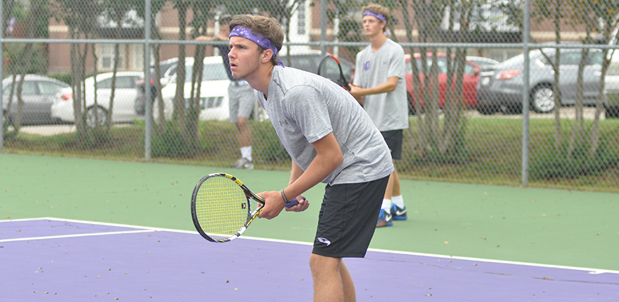 Men's Tennis Falls To Rhodes