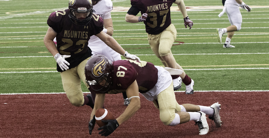 Mounties clinch playoff berth with 39-9 win over Saint Mary's