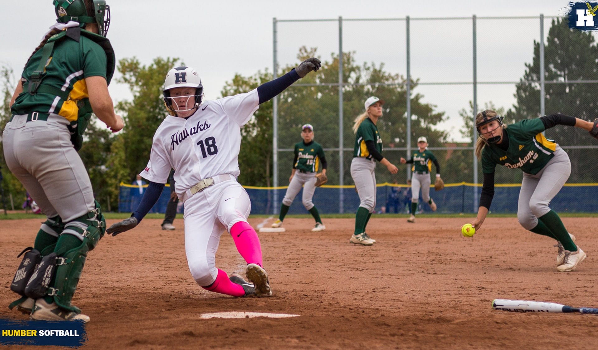 SOFTBALL WALKS-OFF DURHAM TO SPLIT DOUBLEHEADER