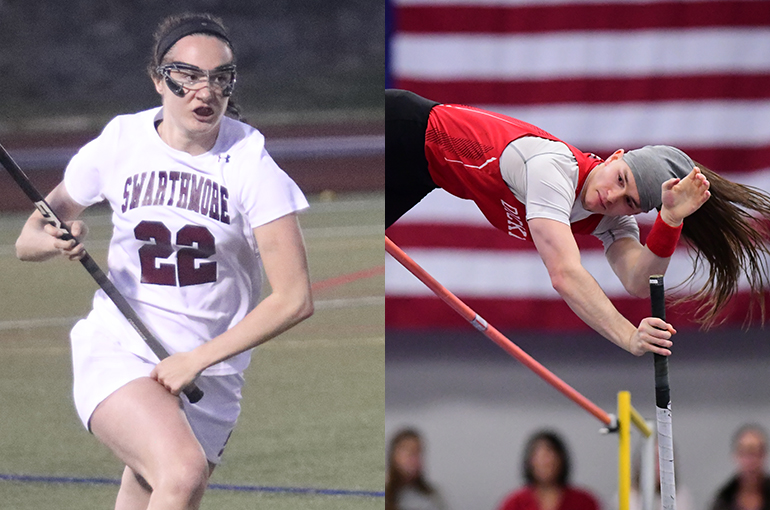 Swarthmore's Camilliere, Dickinson's Gamber Named Scholar-Athletes of the Year