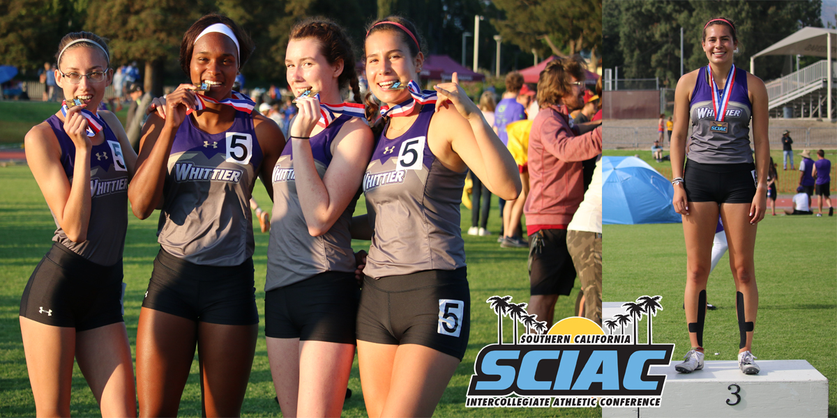 Women's Track & Field: Podiums Five & Two SCIAC Champions