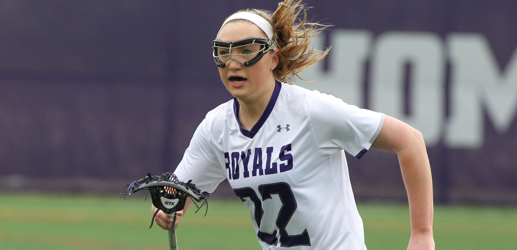 Junior Jill Henson matched her career-high with six goals in Wednesday's 14-7 win over Misericordia.