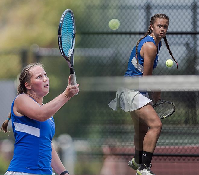 Fredonia's Chiacchia and Miller selected as Women's Tennis Athletes of the Week