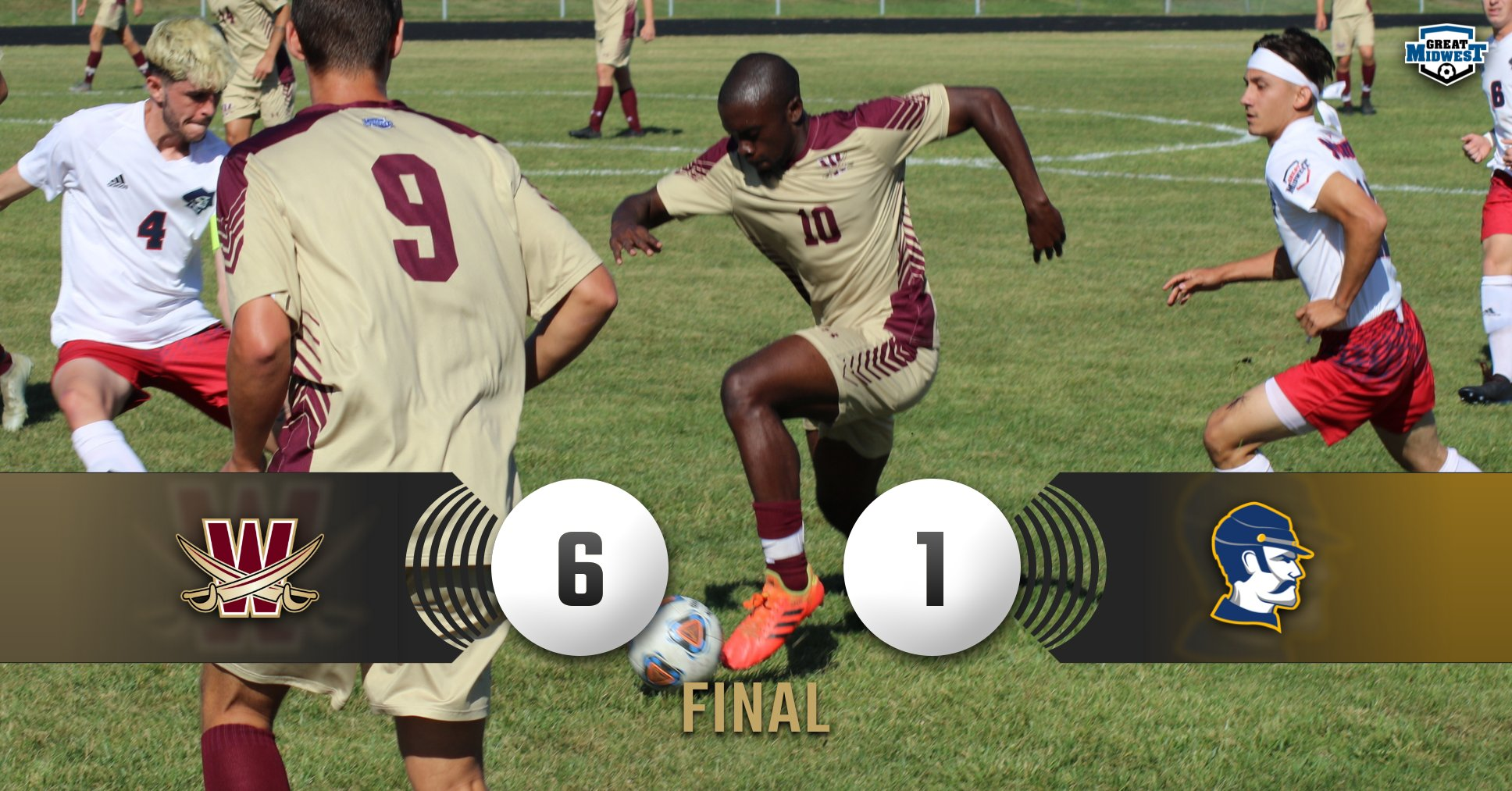 Cornwall's Hat Trick Leads Cavaliers, 6-1