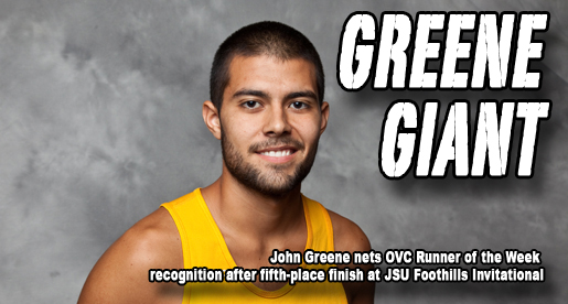 OVC names Greene Co-Male Runner of the Week