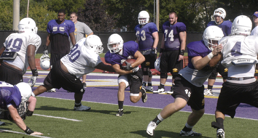 Golden Eagle football team reports Friday, opens camp Saturday