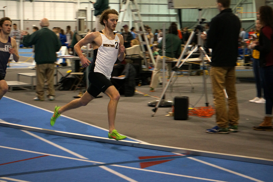 McSolla's Personal Best in Mile Paces Indoor Track at BU Valentine Invitational