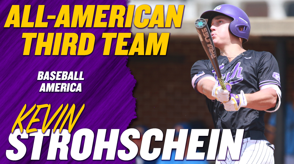 Strohschein tabbed Third-Team All-American by Baseball America