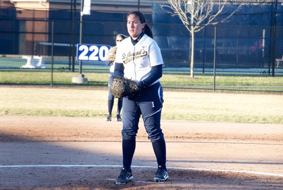 Softball Opens Season with Pair of Losses at Rebel Spring Games