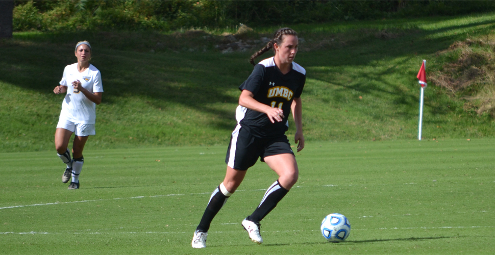Women's Soccer Takes Over a Share of First Place in the AEC Standings with 1-0 Win at Albany