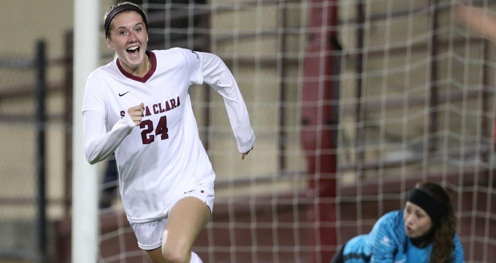 Women's Soccer Wins Crucial Matchup with San Diego