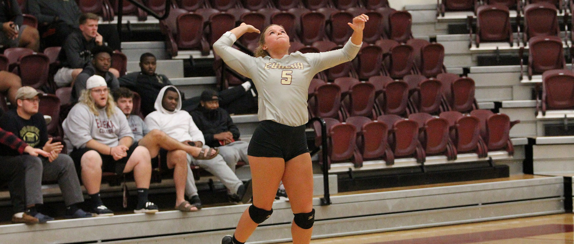 EC Volleyball Falls to Spalding in Three Sets