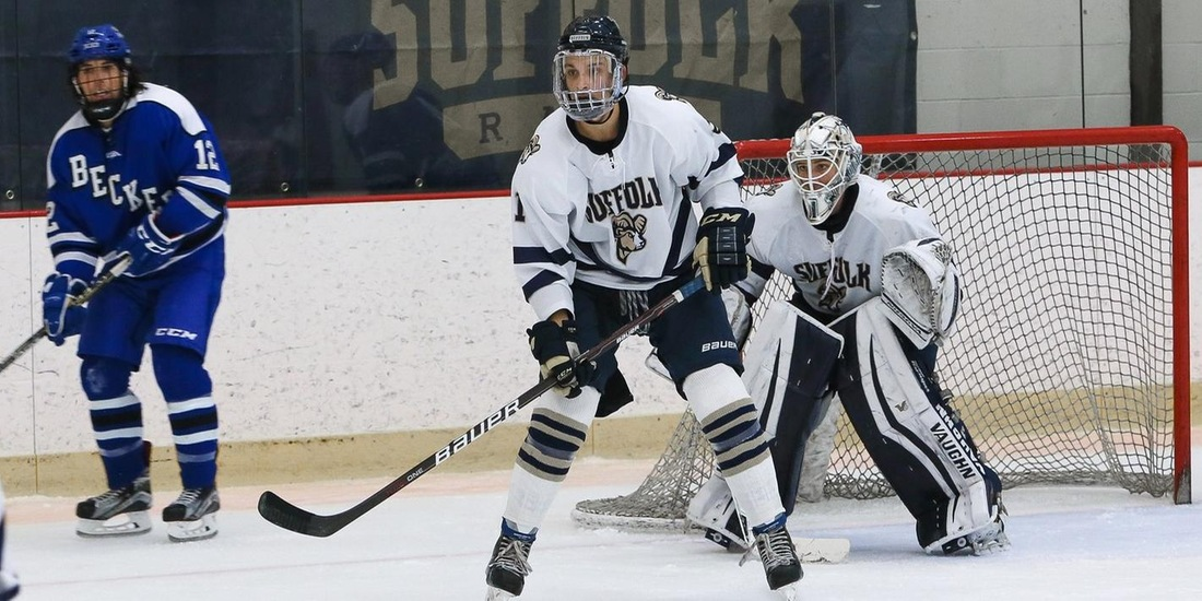 Men's Hockey Preps for Weekend Series with Salve Regina