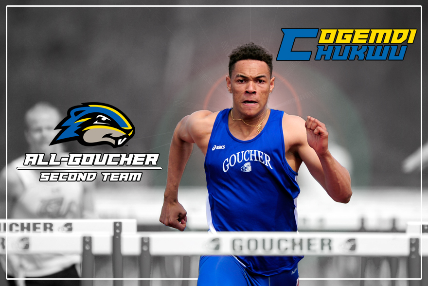 Chukwu Snags Another Accolade as Member of All-Goucher Team