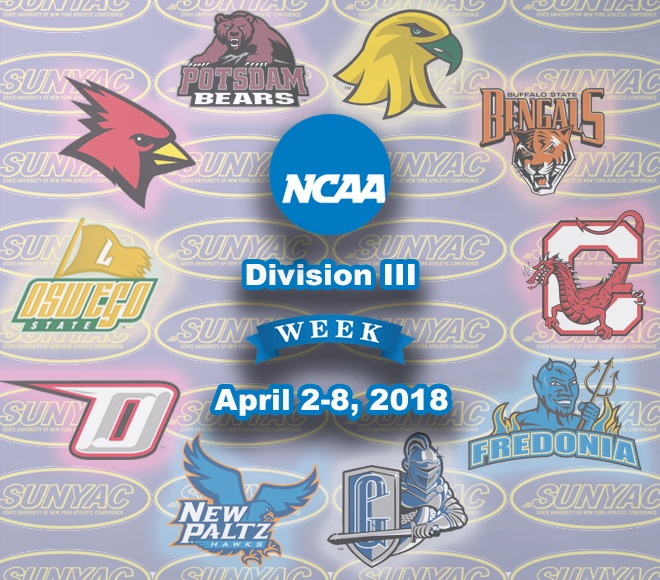 SUNYAC takes part in NCAA Division III Week