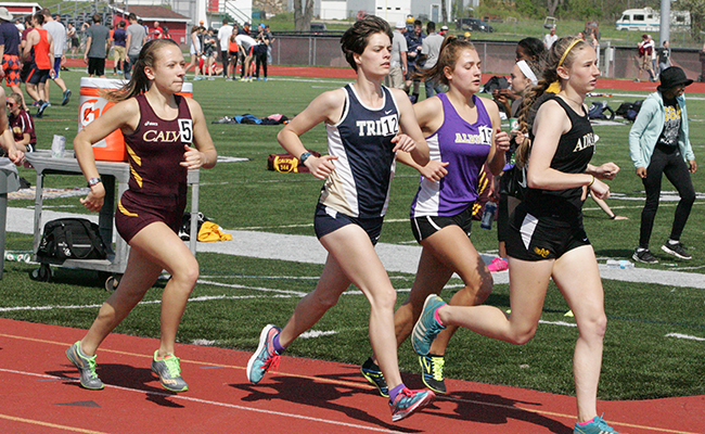 Binfet Sets Personal Best at North Central