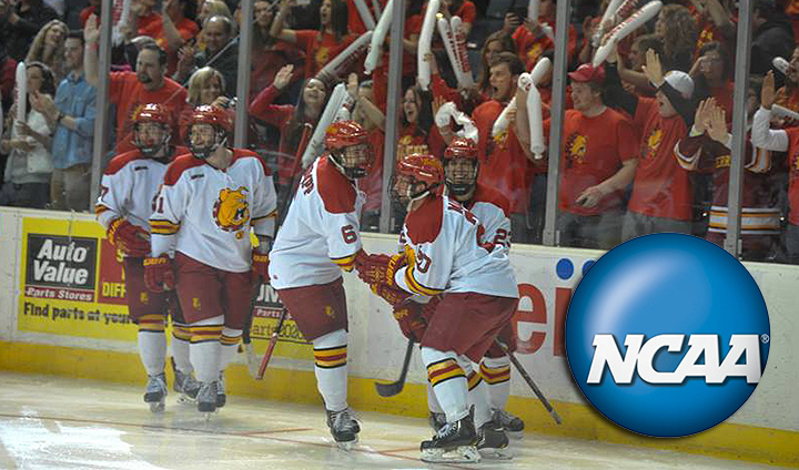 Ferris State Hockey Headed To Cincinnati For NCAA Division I Tournament