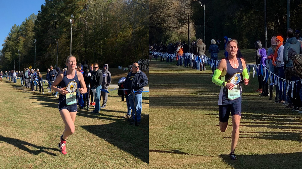 Cross Country Finishes Year With AAC Meet