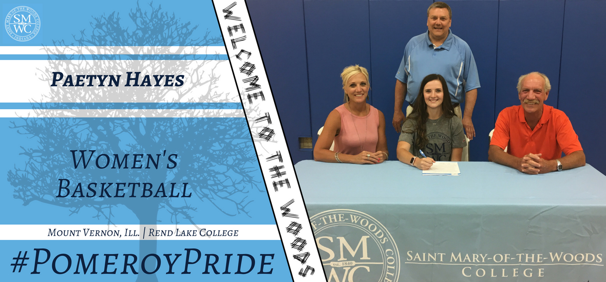 SMWC Women's Basketball Signs Paetyn Hayes