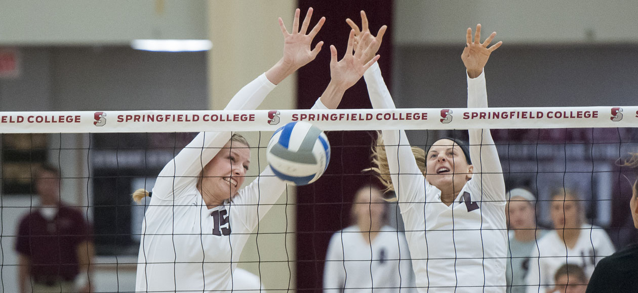 MIT Hangs On For Four-Set Win Over Women's Volleyball