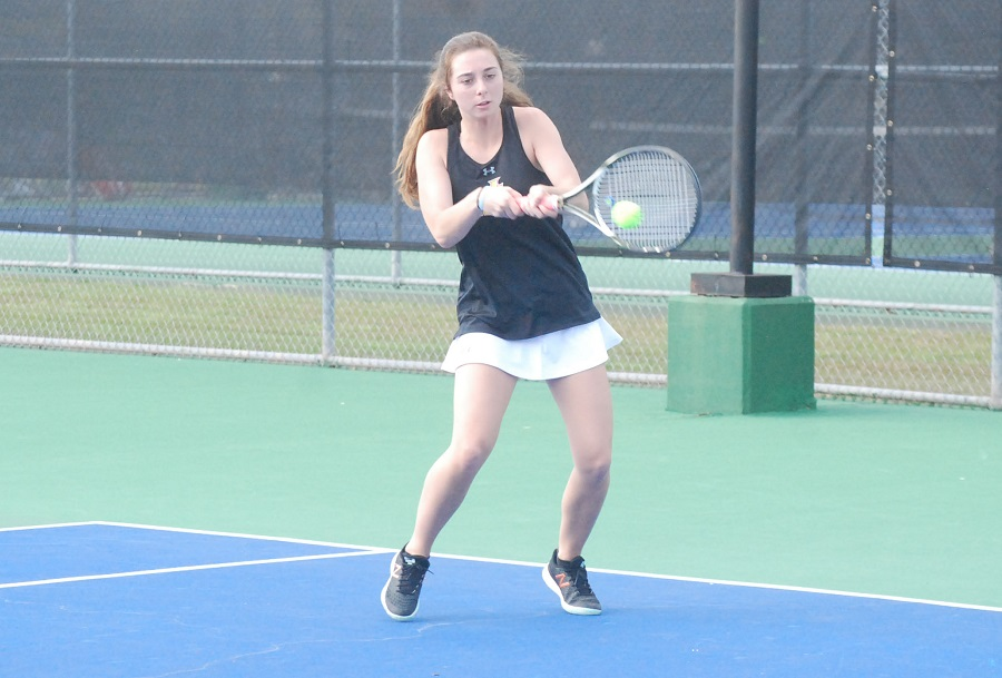 Jones Lady Bobcats continue play in tennis nationals